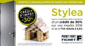 -30% de crédit d'impôt